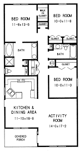 one story floor plan bedroom house plans for bedrooms addition 3 1 floor cottage small