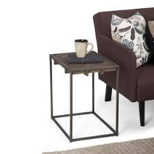 Skinny End Table Narrow Side Table Wayfair