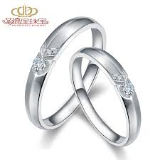 diamond couple rings images Buy holiness k gold diamond couple rings on the ring genuine jpg