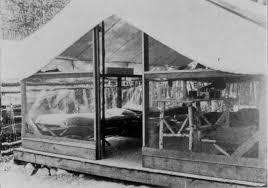 platform tent history deerhorn