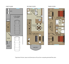 3 car garage dimensions floor plans of gables marbella in boca raton fl