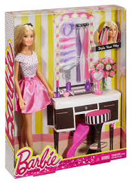 amazon com barbie doll with hair accessory toys u0026 games