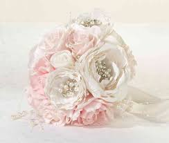 quinceanera bouquets chic shabby bouquet blush wedding collectibles