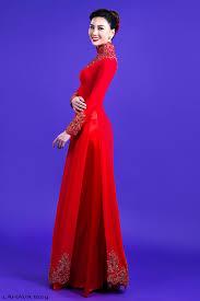 ao dai cuoi dep thêm những mẫu áo dài cưới đẹp cho cô dâu lựa chọn