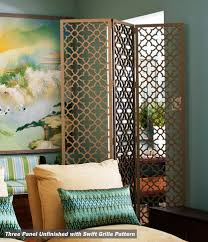 Quatrefoil Room Divider The Ever Versatile Folding Screen Laser Cutting Moroccan And