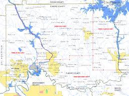 Map Of Alabama Cities Elmore County Alabama Algenweb Elmore County Maps