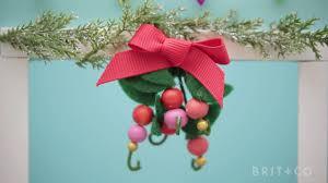 mistletoe headband make it mini mistletoe headband