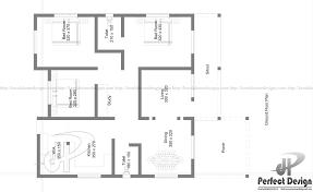 3 Bedroom Home Floor Plans Budget Friendly 3 Bedroom Home U2013 Kerala Home Design