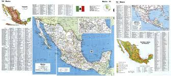 Mexico Maps Large Scale Detailed Political And Administrative Map Of Mexico