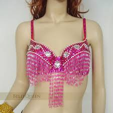 mardi gras bra sequin glass beaded fringe belly bra top mardi gras costume
