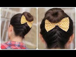 cute girl hairstyles diy diy french up high bun 5 minute video tutorial on youtube