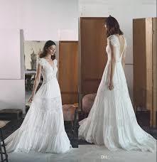 discount bohemian wedding dresses lihi hod 2017 boho bridal gown