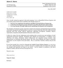 cover letter for software engineer cover letter for software