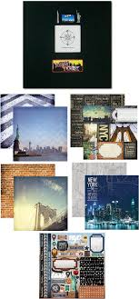scrapbook albums 12x12 new york scrapbook album kit 12 x 12 papers stickers
