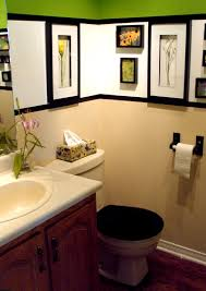 Decorating Ideas For Bathroom by Bathroom Flower Themed Decorating Ideas For Bathroom With Framed