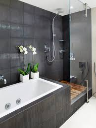 Bathroom With Bath And Shower Charming White Bathroom Design Rectangular Ar Designs Pleasing