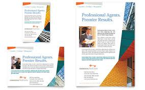 commercial real estate property flyer u0026 ad template by
