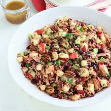 cuisine madagascar madagascar rice salad with apples cranberries