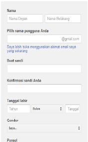 membuat email baru gmail cara membuat email baru di gmail contoh