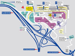 Denver International Airport Map Terminals Layout Of Johannesburg International Airport Airport