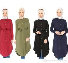 east clothing 2018 middle east shirt abayas muslim blouse islamic clothing