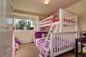 chambre fille avec lit superposé chambre à coucher de filles avec le lit superposé et la