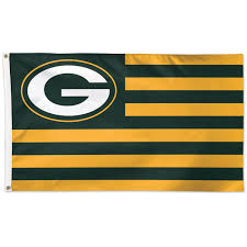 Custom Team Flags Green Bay Packers Flags And Banners At The Packers Pro Shop