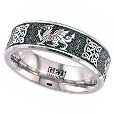 celtic wedding ring wedding rings gentleman s titanium celtic wedding ring