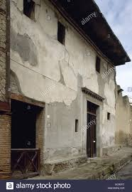 roman art italy herculaneum house with the wooden partition