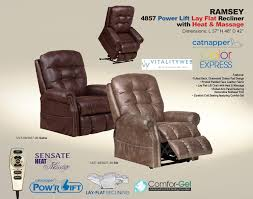amazon com catnapper ramsey 4857 power full lay flat lift chair