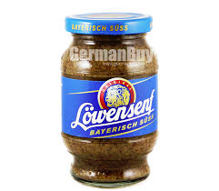 lowensenf mustard lowensenf bavarian sweet mustard buy german