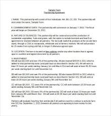 joint partnership agreement template joint venture agreement