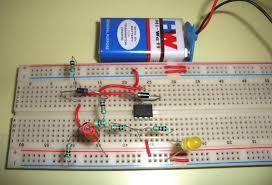 op amp ic lm741 tester circuit diagram