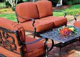 patio furniture cushion covers for outdoor cushions dawndalto