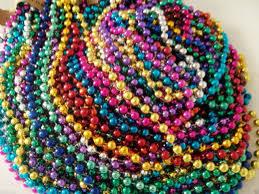 mardi gras beaded necklaces 400 multi color mardi gras necklaces party favors big lot ebay