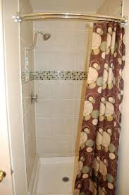 Bath Shower Curtain Rail Small Stand Up Shower Curtain Showers Decoration