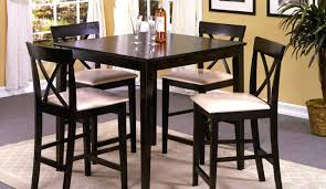 tall dining table and chairs tall dining room tables picnic set seats 8 bauapp co
