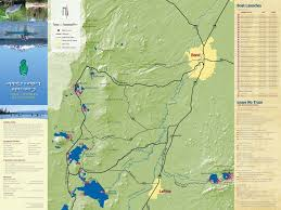 Maps Bend Oregon by Lake Guides Bend Paddle Trail Alliance