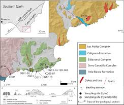 magma flow within in submarine hyaloclastite environments