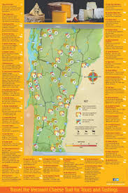 Map Vermont Vermont Cheese Trail U2013 Vermont Cheese Council