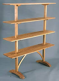 Free Standing Shelf Design by C H Becksvoort Wall Furnishings U0026 Shelves