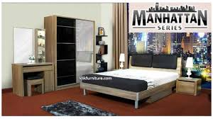 Ranjang Set kamar set olympic manhattan series
