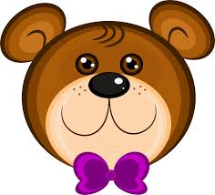 brown bear clipart outline pencil color brown bear