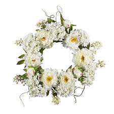 hydrangea wreath 20 peony hydrangea wreath nearly