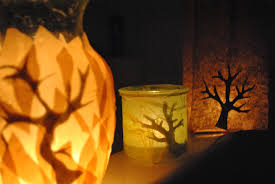 paper bag luminaries halloween diy burning bush luminar tutorial for shavuot or halloween
