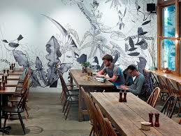 Designing A Wall Mural 43 Best Restaurant Wall Ideas Images On Pinterest Restaurant