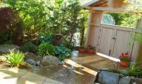outdoor fairy garden design