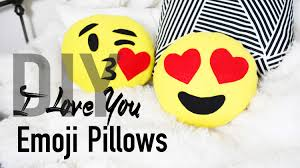 Diy Room Decor Easy Owl Pillow Sew No Sew Diy Cute U0026 Easy Heart Emoji Pillows Ann Le Youtube