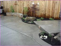 Front Yard Patio Concrete Front Yard Gardensdecor Com