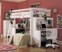 How To Make A Loft Bed With Desk Underneath by Bed On Top Desk On Bottom Foter